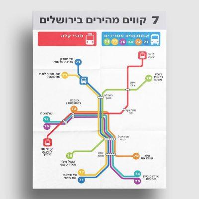 7 קוים מהירים בירושלים